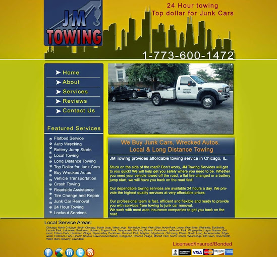 jm towing services
